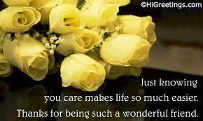 send ecards friends friendship thanks dear friend