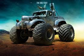 the bigfoot monster truck cars of mad max fury road pictures mad max bigfoot auto express