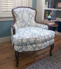 Ikat Armchair New Old Chair Copper Dot Interiors