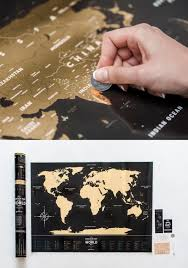 Scratch Off Map Usa by Premium Plastic Black Scratch Map Of The World Free Shipping