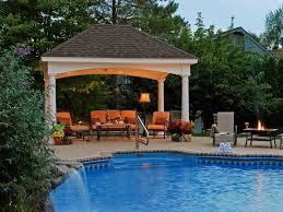 Backyard Ideas With Pool by Backyard Designs With Pool Swimming Pool With Hardscape And
