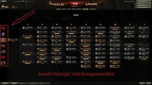 world of tanks nation guide 0 9 3 amayii u0027s nostalgic tank arrangement mod mods world of