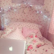 Floral Bedroom Ideas Floral Pink Fairy Lights Chambre Pinterest Cath Kidston
