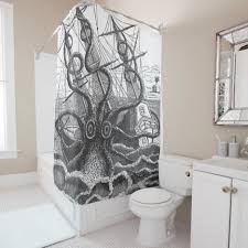 Science Shower Curtain Shower Curtain Rod Best 25 Kraken Shower Curtain Ideas On Pinterest Kraken Kid