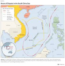 Map Of South China Sea by Threats To U S Vital Interests In Asia