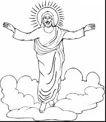 stunning jesus christ coloring pages with jesus coloring page