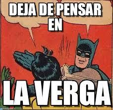 Batman Slapping Robin Meme - deja de pensar en batman slapping robin meme on memegen
