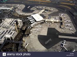 Logan Airport Map Logan Airport Aerial View Boston Massachusetts Usa Stock Photo
