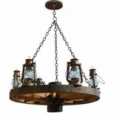 Mason Jar Wagon Wheel Chandelier Wagon Wheel Lamp Foter