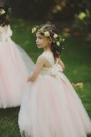 flowergirl hair flower girl hair wreath elizabeth designs the wedding