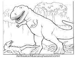 free printable dinosaur coloring pages kids