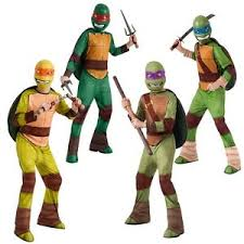 Ninja Turtle Halloween Costume Girls Teenage Mutant Ninja Turtle Costume Kids Halloween Fancy Dress Ebay