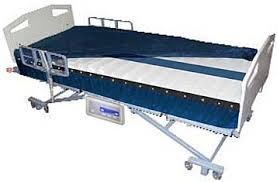 alternating pressure mattress with gentle low air loss power pro