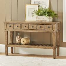 Sofa Table With Drawers Birch Derrickson Console Table With Drawers Reviews