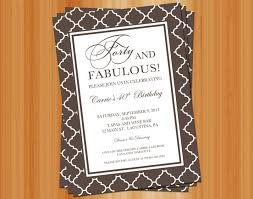 birthday invitation wording for adults funny image collections
