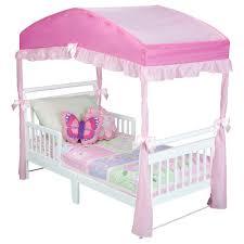 Disney Princess Canopy Bed Toddler Beds For Girls Vnproweb Decoration