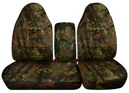 Ford F150 Truck 1970 - 1996 2003 ford f 150 40 60 camo truck seat covers console armrest