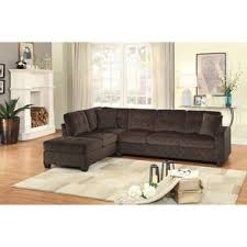 Leather Sofa With Chaise Lounge chaise sofa sectional sofas you u0027ll love wayfair