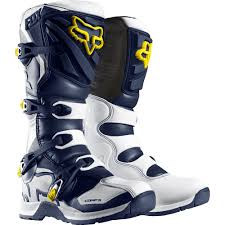 metal mulisha motocross boots fox racing 2016 youth comp 5y se boots white yellow available at
