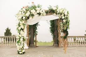 chuppah poles 23 creative wedding chuppah ideas we