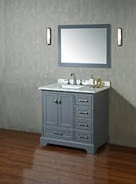Single Bathroom Vanity Set Stufurhome Hd 7130g 36 Cr Newport Single Sink Bathroom Vanity Set