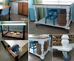 How To Make An Kitchen Island Best 25 Rolling Island Ideas On Pinterest Rolling Kitchen Cart