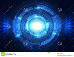 abstract vector background futuristic technology style stock
