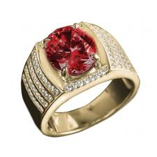 ruby red rings images King men 39 s ruby red ring timepieces international jpg