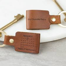 leather anniversary gifts for him 3rd wedding leather anniversary gifts notonthehighstreet