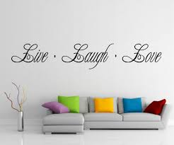 wall decoration live laugh love wall sticker lovely home