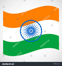Flag Of Inida National Flag India 26 Th January Stock Vector 359983334