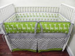Custom Crib Bedding Sets Custom Crib Bedding Set Giraffe Lime By Babybedding On Zibbet