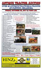 The Barn At 17 Antiques Antique Tractors U0026 Buggys Hinz Auctioneers