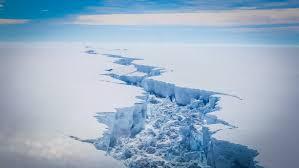 imagenes de la antartida grieta en la antártida la nacion