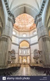 dashboard fiore interior of cathedral santa maria del fiore in florence stock