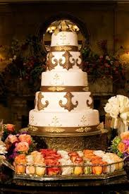 fleur de lis cake topper colorado inspired garden wedding in houston inside weddings