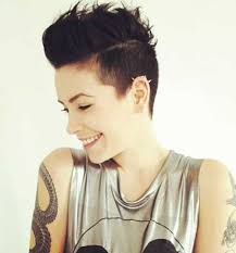 hair cuts that are shaved on both sides and long on the top for women best 25 shaved hairstyles ideas on pinterest shaved side