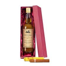 cigar gift set personalised malt whisky montecristo cigar gift set