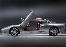 Spyker C8 Aileron Interior Spyker C8 Aileron Sports Cars