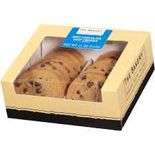the bakery soft chocolate chip cookies 11 oz box walmart com