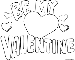 valentines coloring pages printable diaet