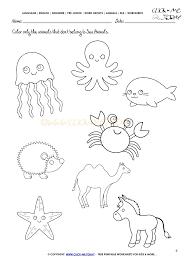 animals worksheet activity sheet color 6