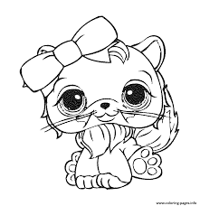 littlest pet shop 8 coloring pages printable