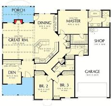 Big Houses Floor Plans Best 25 Single Story Homes Ideas On Pinterest Small House