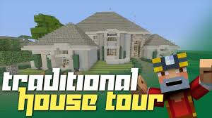 minecraft xbox 360 traditional house tour cribcraft world