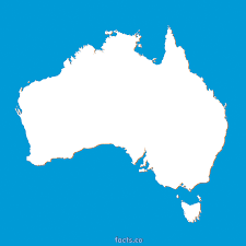 Blank Continent Map Download Map Of Australia Outline Major Tourist Attractions Maps