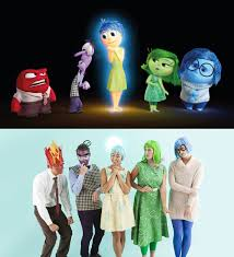 how to make inside out characters for an epic group halloween