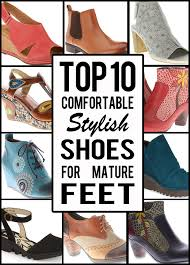 Comfortable Stylish Heels Top Ten Comfortable Stylish Shoes For Mature Feet Suzanne Carillo