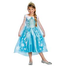 delux halloween costumes girls frozen elsa deluxe halloween costume shop your way online