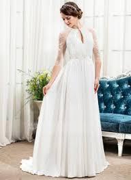 a linie u ausschnitt sweep pinsel zug chiffon tull brautkleid mit applikationen spitze ruschen knopf p770 a line princess v neck sweep chiffon wedding dress with
